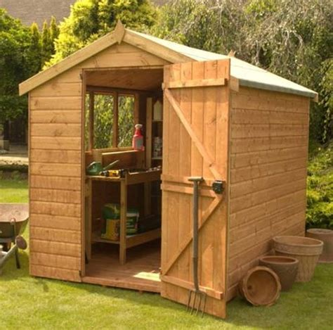 Wooden Garden Shed by Pre Assembled Garden Sheds How To Build A Shed 8 X 10