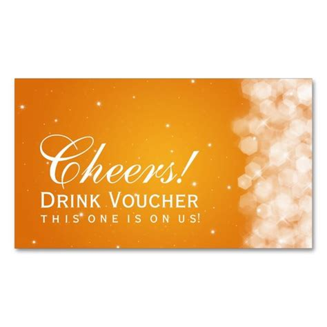 free drink card template 1462 best images about voucher card templates on
