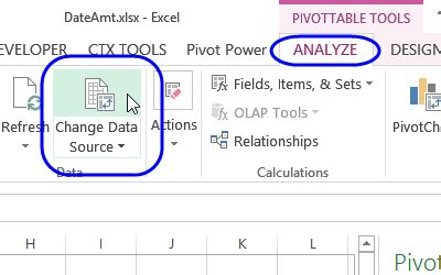 ms excel  pivot table multiple data sources