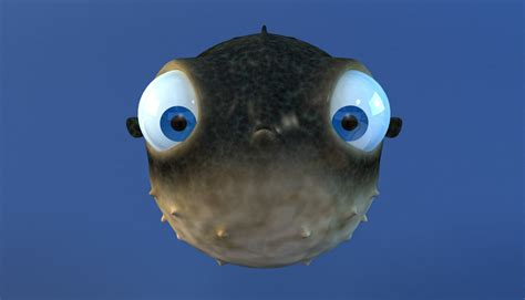 puffer fish animated puffer fish