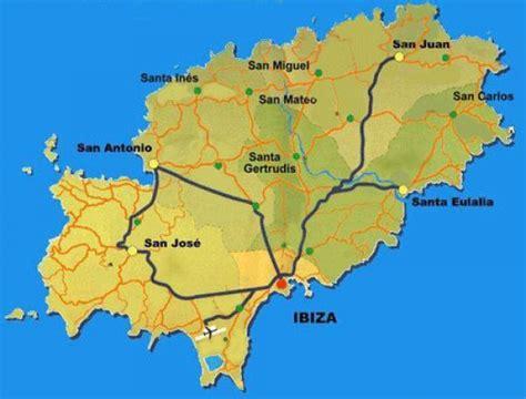 0004488962 carte touristique ibiza and infos sur ibiza carte espagne arts et voyages