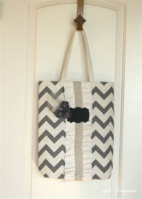 tote bag pattern skip to my lou ruffled tote bag tutorial by girl inspired skip to my lou
