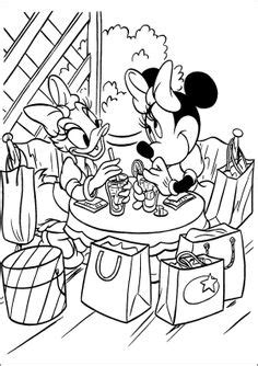 minnie and daisy coloring pages