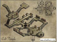 Isometric Maps | Elven Tower Elven Numbers