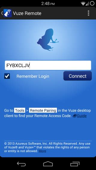 vuze remote lets you the popular torrent client from android - Vuze For Android
