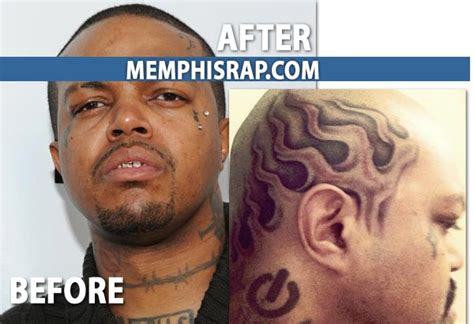 dj paul of three 6 mafia cuts his hair off gets a flame