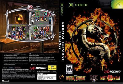 Home Design Games For Xbox 360 Mortal Kombat Trilogy Xbox Box Art Cover By Kracker624