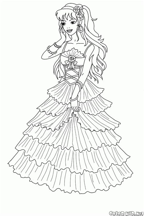 coloring page rainbow fairy