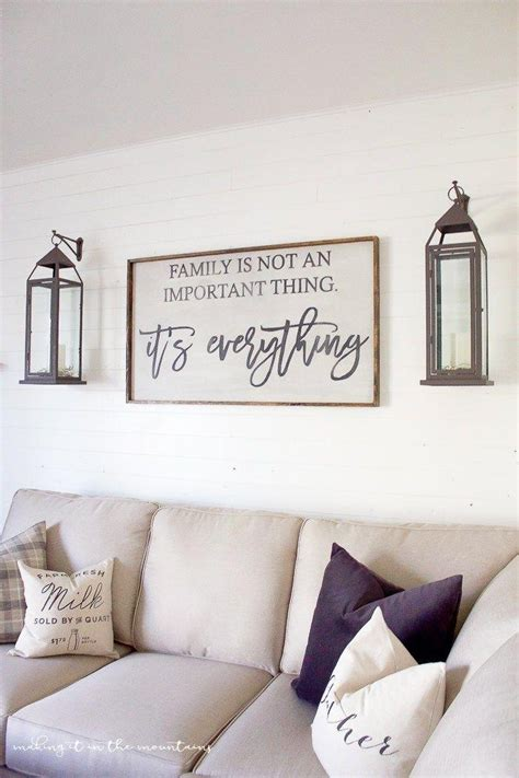 home decor for walls 20 inspirations wall decor for family room wall