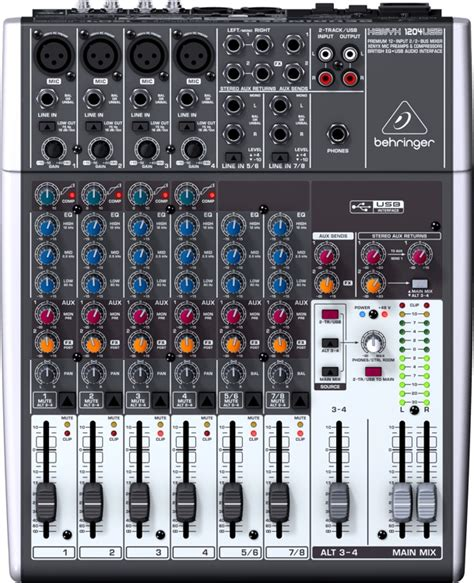 Mixer Xenyx 1204 Usb behringer xenyx 1204usb mixer with usb sweetwater