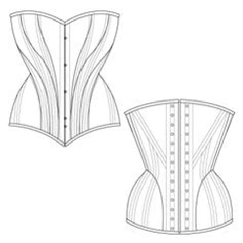 corset pattern generator victorian corset pattern generator just enter your measurements and