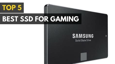 best ssd best ssd for gaming