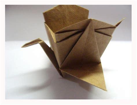 Tsuru Origami - cesto tsuru by harui origami via flickr origami