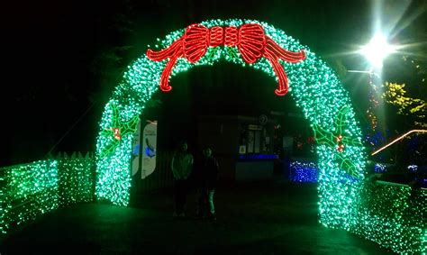 Oregon Zoo Rose Tu Zoo Lights Oregon Zoo Lights