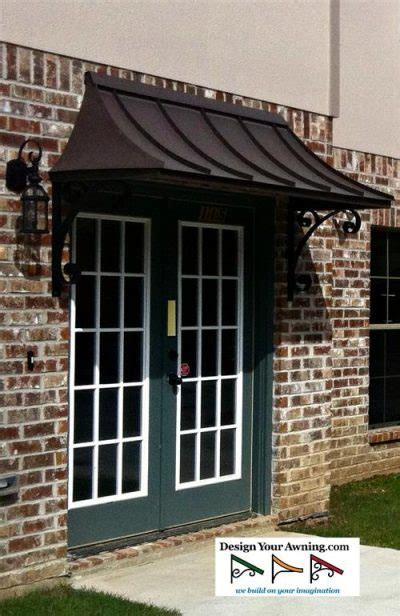 awning front door 4 the metal juliet awning with the