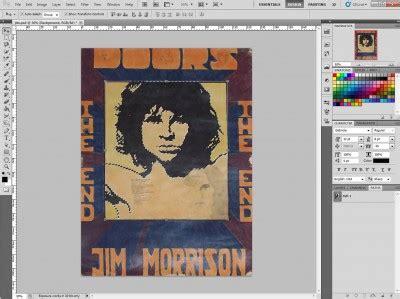 photoshop tutorial jim morrison vector jim morrison tutorial phire base