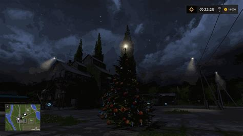 christmas tree v1 1 objects ls17 farming simulator 2017