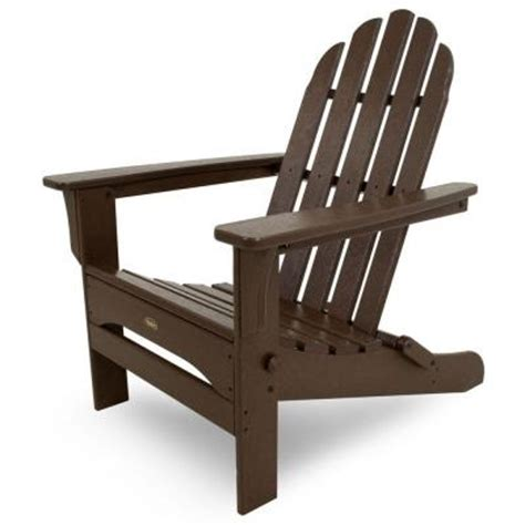 Patio Chairs Home Depot Trex Outdoor Furniture Cape Cod Vintage Lantern Folding Patio Adirondack Chair