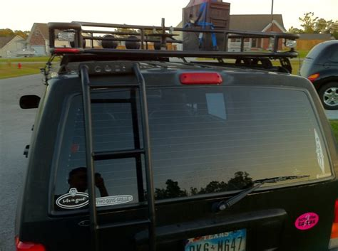 jeep wj roof lights roof rack light bars and bumper lights jeep
