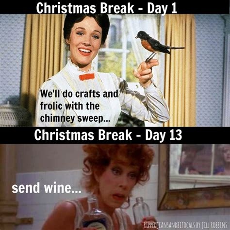 Christmas Break Meme - christmas break is almost over the tuesday meme ripped