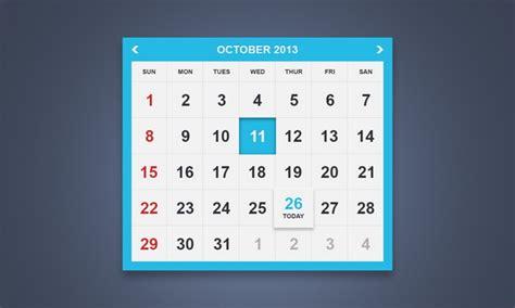 calendar design ui 40 best free calendar templates psd css3 wallpapers
