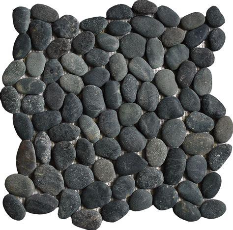 pebble tile pebble tiles pebble mosaic pebble mosaics black pebble