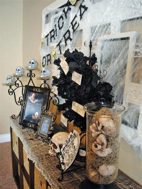Skull Decorations For The Home Fall Decorating Ideas For Home Interior Design Styles And Color Schemes For Home Decorating Hgtv