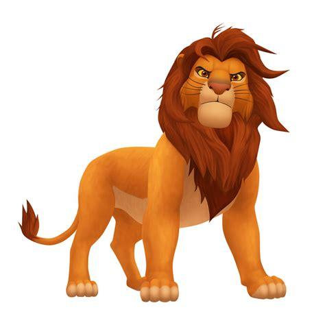 simba lion king animal