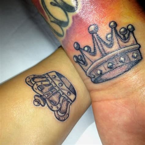 king and queen tattoo flash 32 king crown tattoos designs