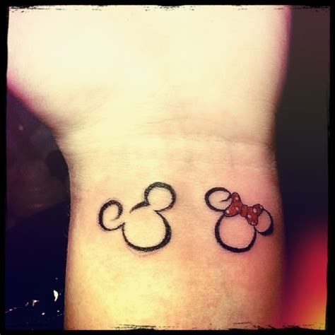cute couples tattoo disney i wanna get this it s to