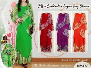 Setelan 3in1 Dress Maxi Skirt Jilbab Set Longdress Dress bros fashion butiq