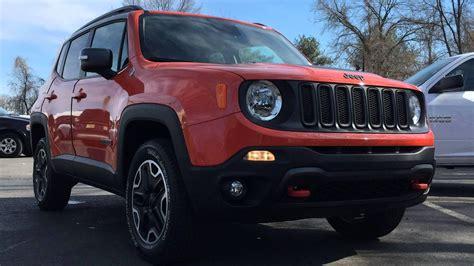 jeep renegade trailhawk orange 2015 jeep renegade trailhawk omaha orange