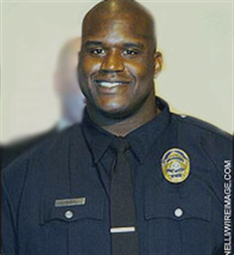 Shaq Officer by Shaq Helps Arrest Accused Of Assaulting
