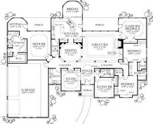 ranch style floor plans 3000 sq ft country home plan four bedrooms plan 136 1002