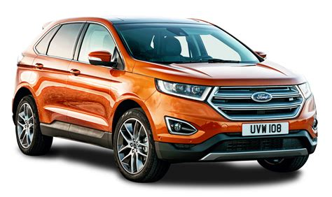 ford png ford edge orange car png image pngpix