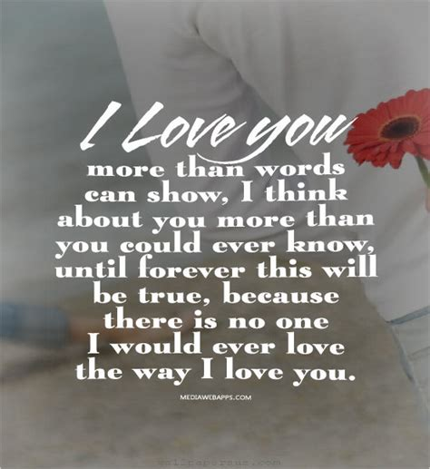 i love you more than you know love quotes sayings images page 11