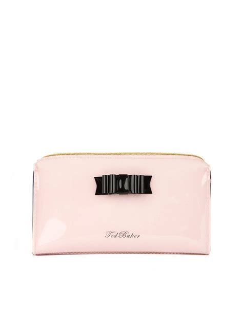 Bow Cosmetic Bag ted baker ted baker bow cosmetic bag