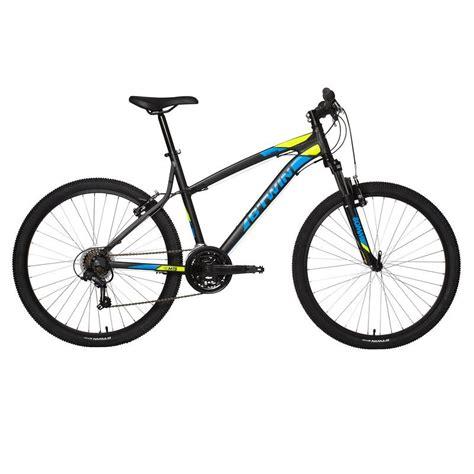 rockrider 340 mountain bike black decathlon