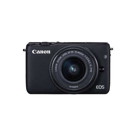 Eos M10 With Ef M 15 45mm White canon eos m10 compact system with ef m 15 45mm f 3