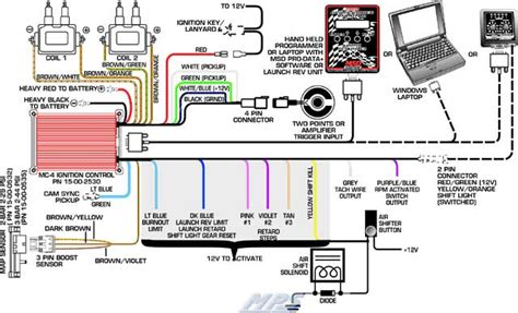 wiring diagram for msd digital 6 plus get free image