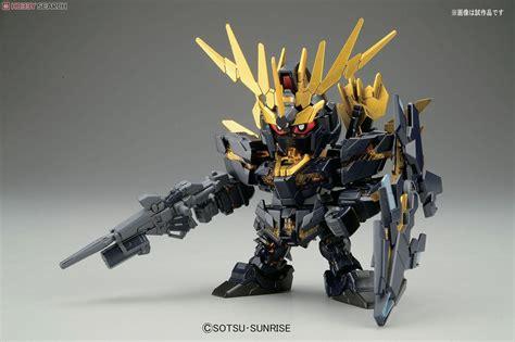 Sd Banshee Norn Bandai unicorn gundam 02 banshee norn sd gundam model kits