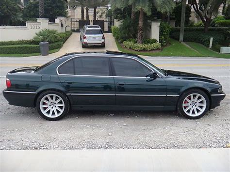 sell used 1998 bmw 740il excelent condition in pompano