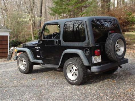 1999 Jeep Wrangler Sport Sell Used 1999 Jeep Wrangler Sport 4 0 Liter V 6 Hardtop