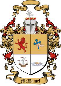Mcdaniel family coat of arms