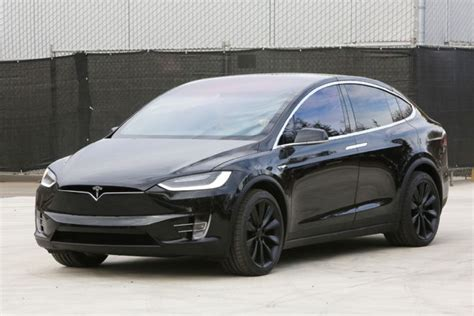 Tesla X Images 2016 Tesla Model X P90d Review