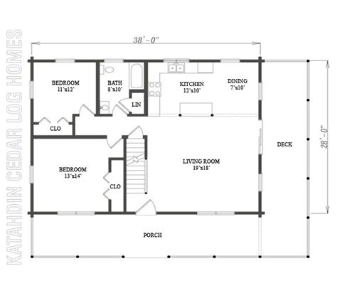 09971 katahdin cedar log homes floor plans