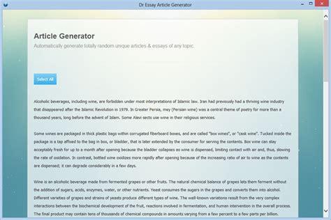 random resume generator random essay generator order custom essay