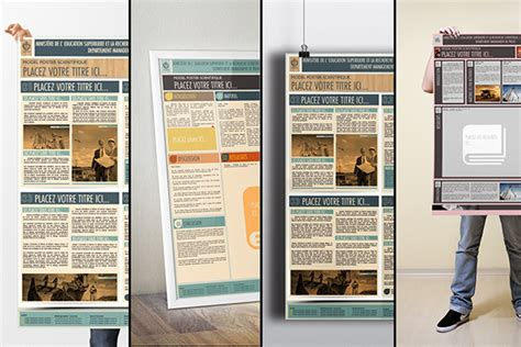 design poster a0 le poster scientifique a0 powerpoint templates on behance