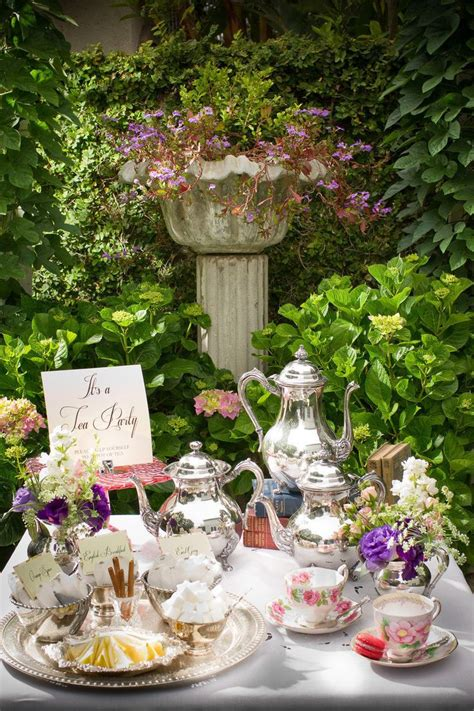 garden tea ideas summer tea ideas nownowpolka