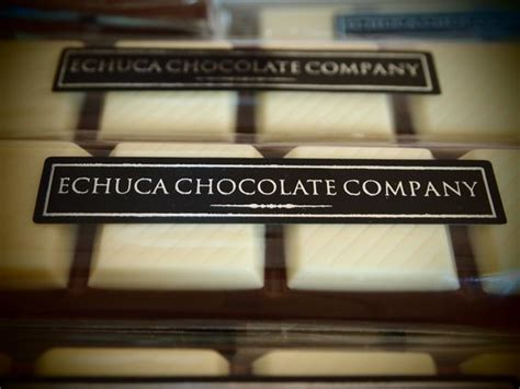 Handmade Chocolate Company - some of our delicious handmade chocolate bars picture of
